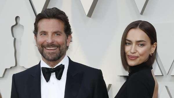 Melihat Lagi Kemesraan Bradley Cooper dan Irina Shayk