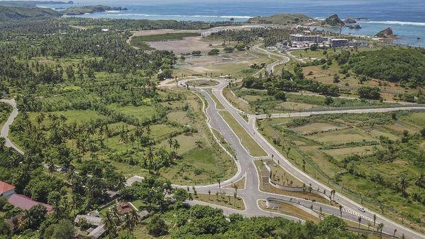 Sirkuit di Mandalika akan menggunakan jalan raya.