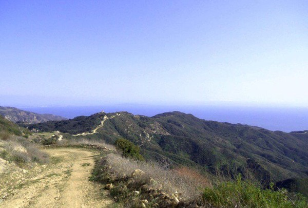 Dia membagikan foto indahnya pemandangan di The Ranch Malibu, California, USA. (@ItsRamiMalek/Twitter)