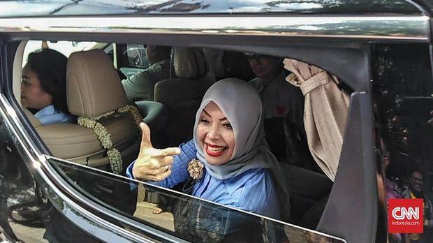 Isteri Sandiaga Uno, Nur Asia Uno, digadang-gadang untuk ikut di Pilwalkot Tangsel 2020.