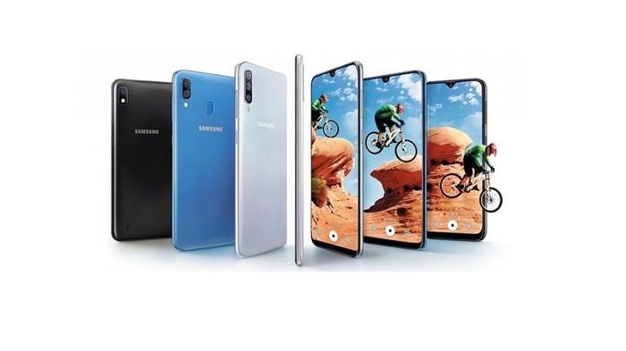 Seri terbaru Galaxy A. Foto: Samsung