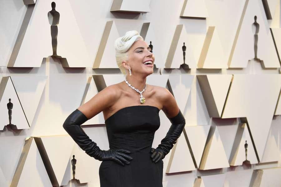 Baru Putus, Lady Gaga tetap Ceria di Oscar 2019