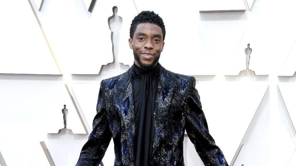 Heboh Chadwick Boseman Dilarikan ke Rumah Sakit