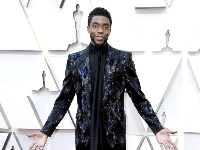 HOLLYWOOD, CALIFORNIA - FEBRUARY 24: Chadwick Boseman attends the 91st Annual Academy Awards at Hollywood and Highland on February 24, 2019 in Hollywood, California. (Photo by Frazer Harrison/Getty Images)