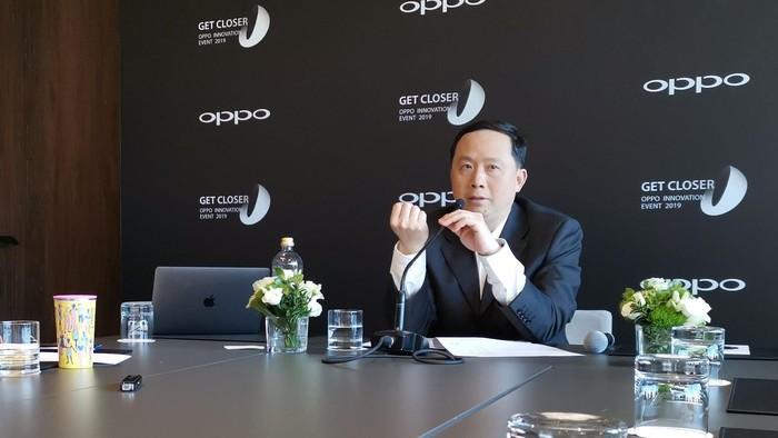 Henry Tang, Director of Standards Oppo. Foto: Anggoro Suryo Jati/detikinet