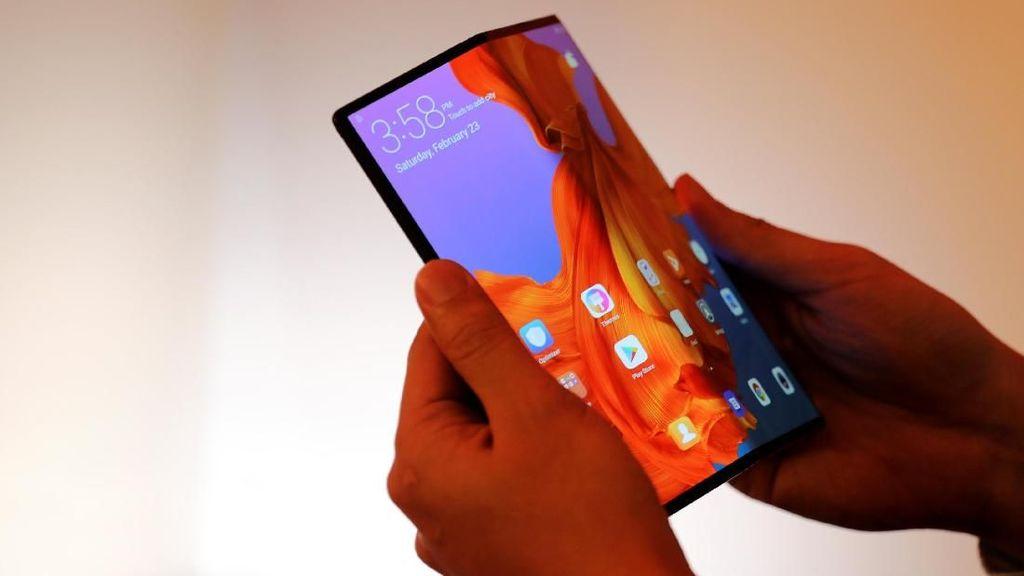 Ini Kata Bos Huawei soal Masa Depan Ponsel Layar Lipat