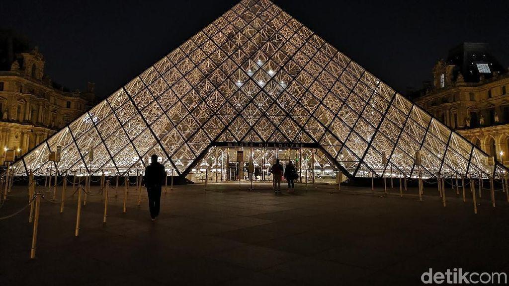 Wabah Corona, Rumah Mona Lisa, Museum Louvre Ditutup