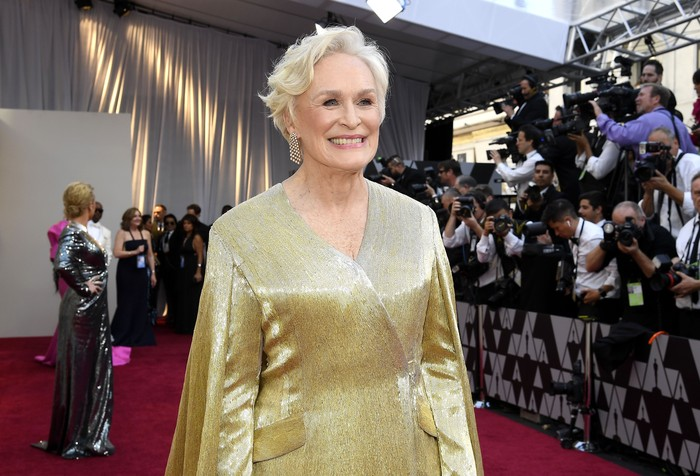HOLLYWOOD, CALIFORNIA - FEBRUARY 24: Glenn Close attends the 91st Annual Academy Awards at Hollywood and Highland on February 24, 2019 in Hollywood, California. (Photo by Frazer Harrison/Getty Images)