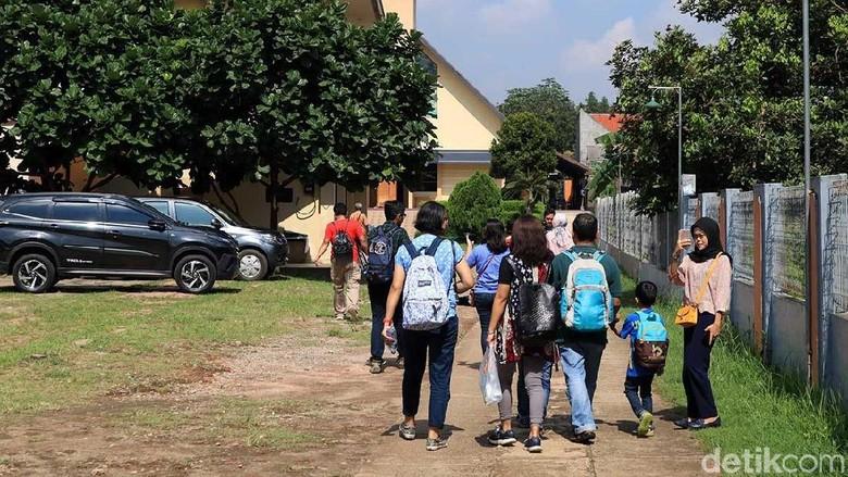 Para peserta Wisata Toleransi Kampung Sawah (Randy/detikTravel)