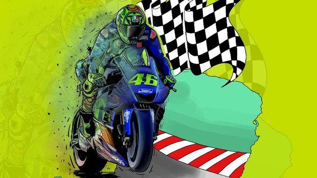 Valentino Rossi, MotoGP, dan Persiapan RI Jadi Tuan Rumah
