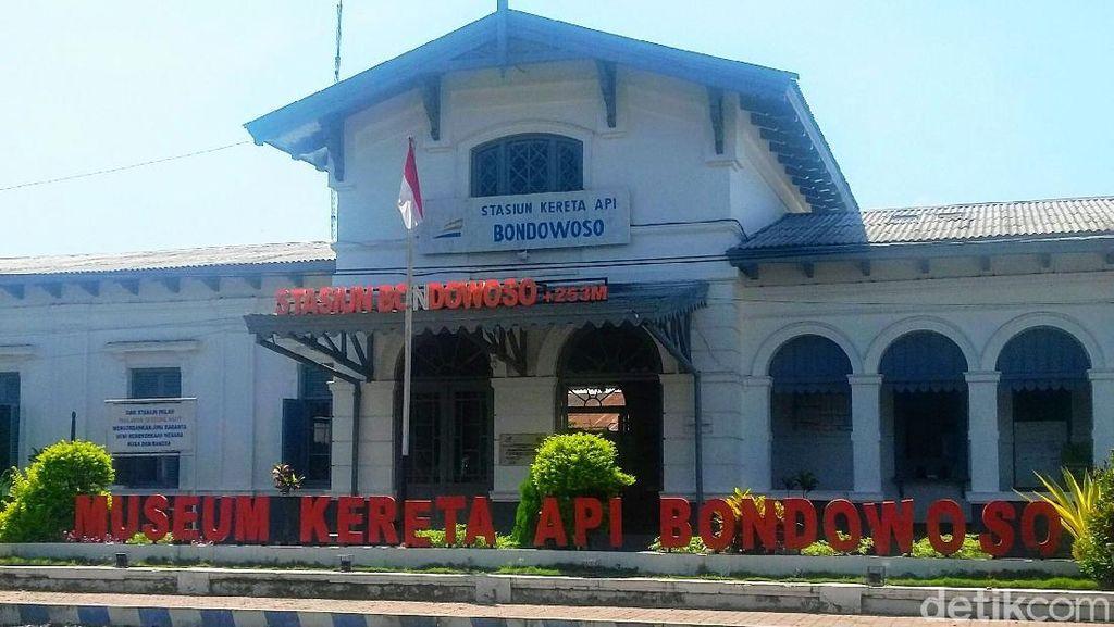 Foto: Jejak Kereta Api Indonesia di Bondowoso