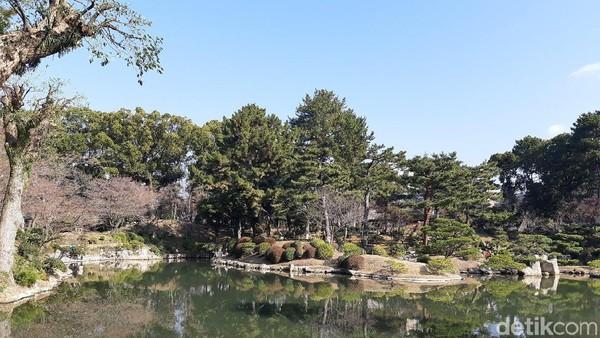 Nama ini didapat dari ide untuk membuat miniatur dan mengoleksi pemandangan cantik. Konsepnya mirip Sungai Xihu di Hangzhou, China. Cantik deh (Bonauli/detikTravel)