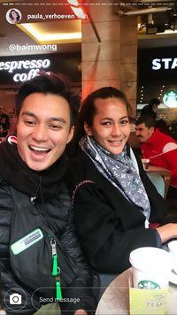 Liburan Ke Turki, Baim Wong Ajak Paula Cicip Beefsteak 'Salt Bae'