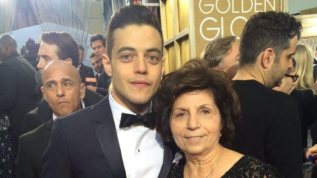 Pidato Haru Rami Malek untuk Orang Tuanya di Piala Oscar 2019