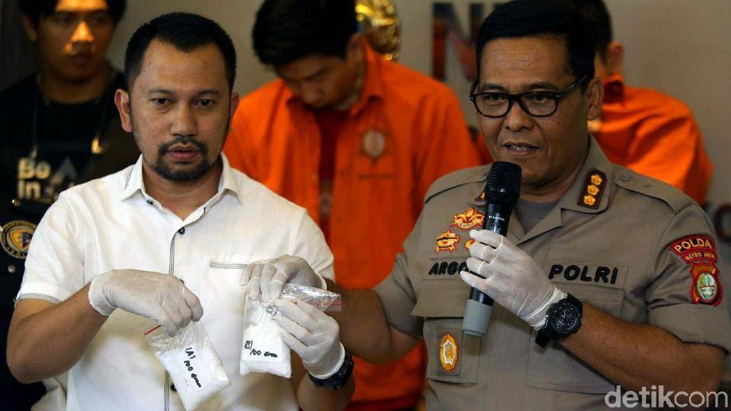 Polisi Tangkap Pengedar Narkotika Jaringan Jakarta-Malaysia