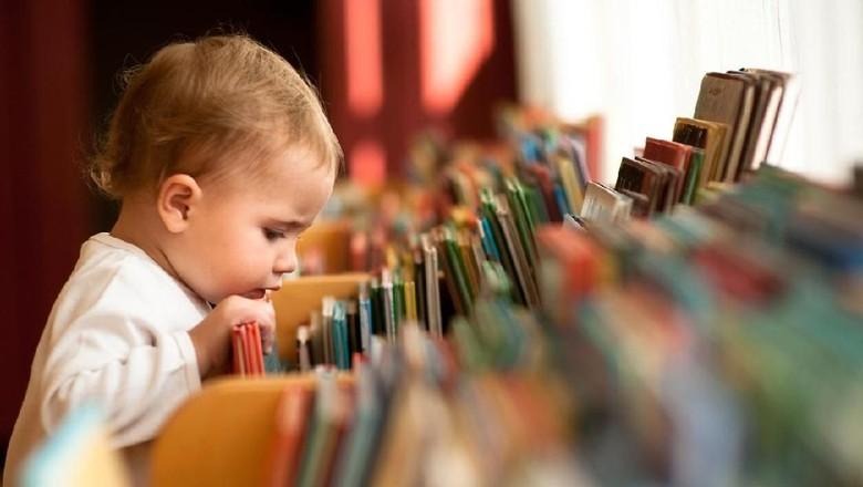Ilustrasi buku untuk bayi/ Foto: iStock