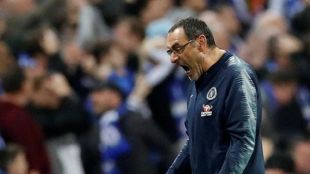 Angka-angka di Balik Karier Sarri di Chelsea