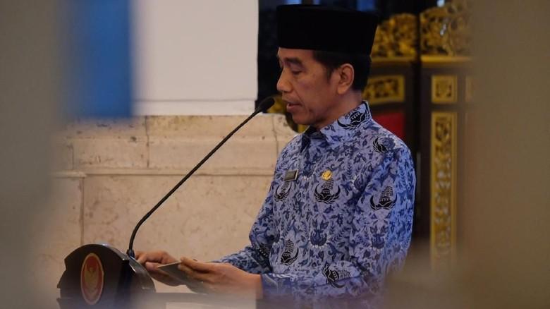 Jokowi Minta Korpri Turunkan Angka Stunting dan Awasi Dana Desa