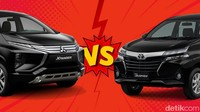 Duel Mobil Terlaris: Avanza Vs Xpander, Lebih Bagus yang Mana?