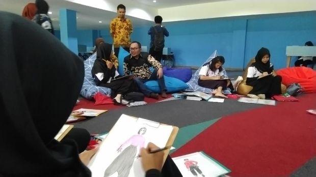 Menaker Hanif Dhakiri di BLK Semarang