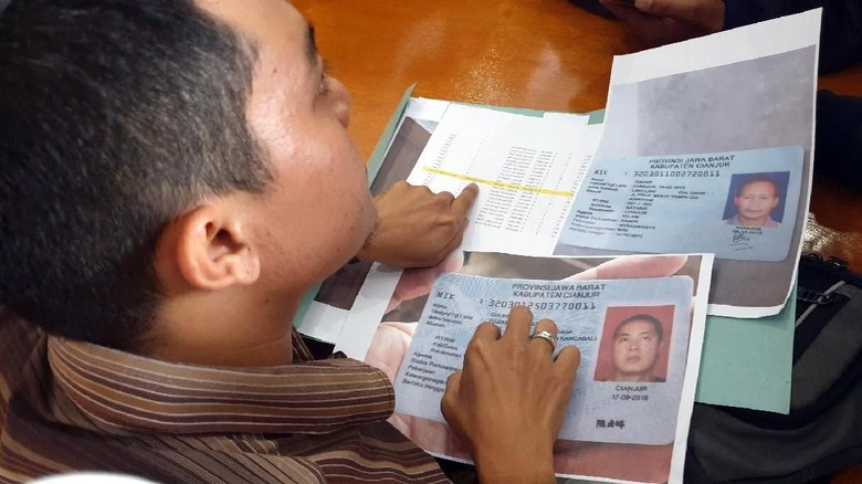 Sengkarut e-KTP WNA China Terdaftar di DPT Cianjur