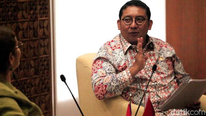 Fadli Zon (Lamhot Aritonang/detikcom)