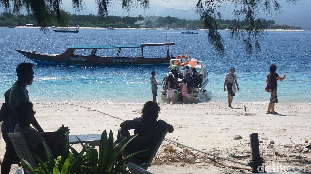 Foto: 7 Bulan Gili Trawangan Pasca Gempa