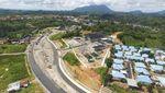 Mulusnya Jalan Perbatasan RI-Malaysia di Kalimantan