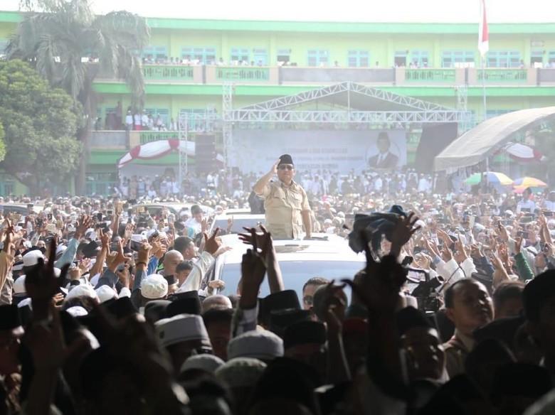 BPN Pamer Hasil Survei Internal: Prabowo 48%, Jokowi 46%