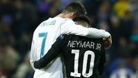 Dear PSG, Neymar Bilang Mau Main Bareng Cristiano Ronaldo nih