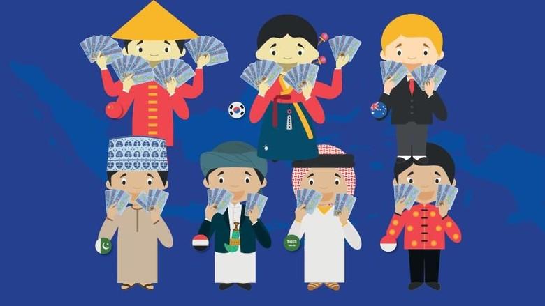 WN Jepang di Badung Bali Paling Banyak Pegang KTP