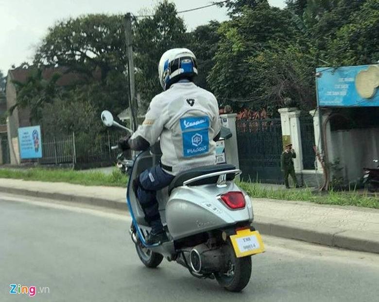 Vespa Elettrica di Vietnam. Foto: Dok. Zing.vn