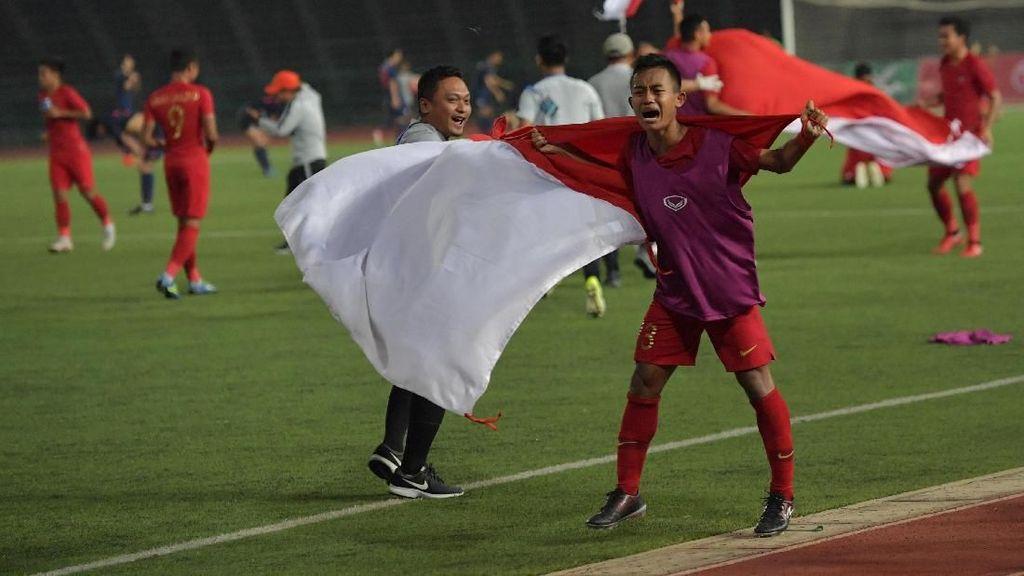 Sani Rizki Jagoan Timnas U-22 Diganjar Kenaikan Pangkat dari Kapolri