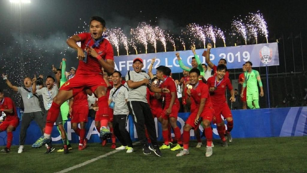 Kejutan untuk Timnas Indonesia U-22: Bonus Rp 2,1 Miliar