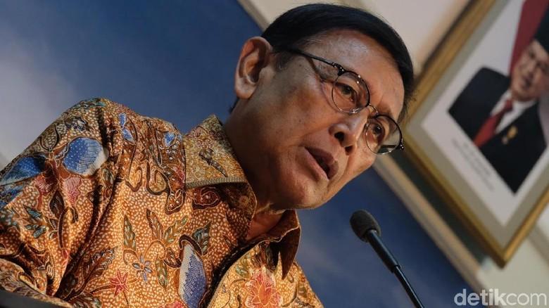 Wiranto Beri Gambaran Beratnya TNI-Polri Buru KKB Papua