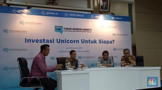 Bela Unicorn, Rudiantara: Mau Nggak Gojek Ditutup?