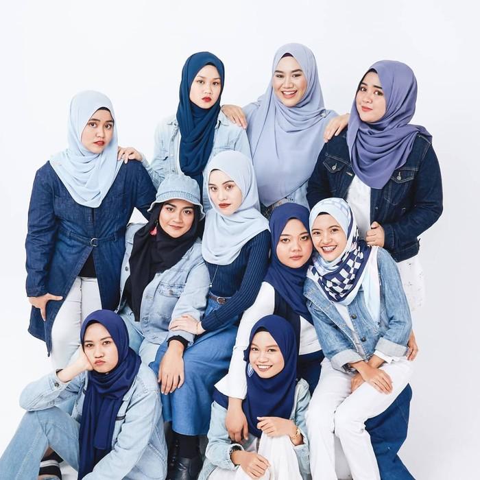 Bahiyya Haneesa, grup acapella Malaysia yang viral karena menyanyi lagu Solo, Jenny Blackpink. Foto: Instagram/BahiyyaHanessa