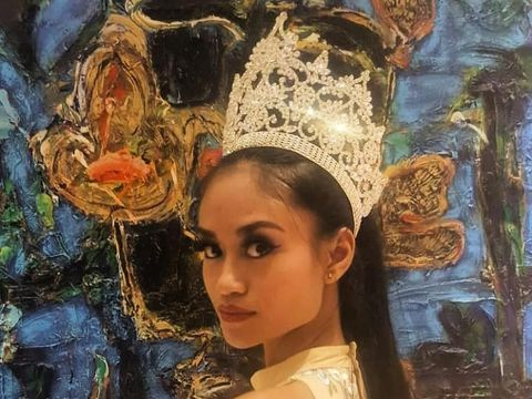 Sri Dewi Martomamat, Miss Supranational Suriname 2019