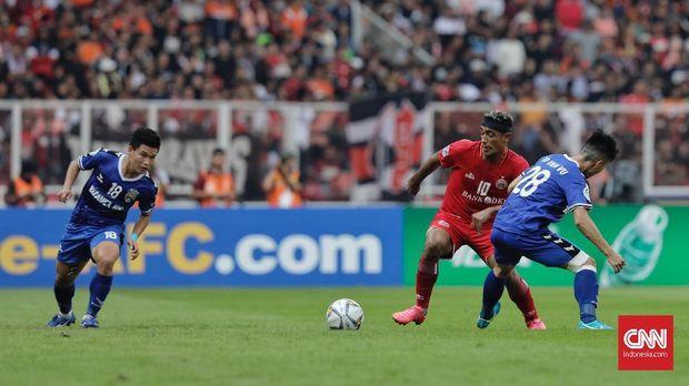 Bruno Matos mencetak hattrick ke gawang Shan United.
