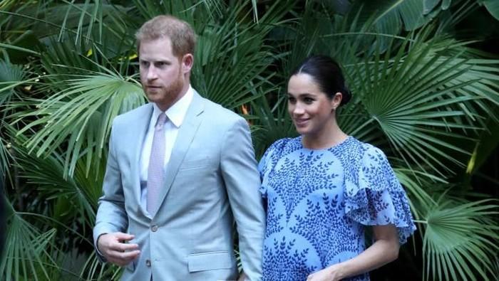Pasangan Meghan Markle dan Pangeran Harry (Foto: Getty Images)