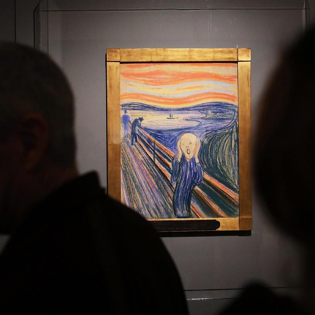 Hiii... Lukisan Menjerit The Scream Bakal Dipajang di London