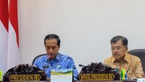 Rapat Bareng Menteri, Jokowi Beberes Soal Konsesi Lahan