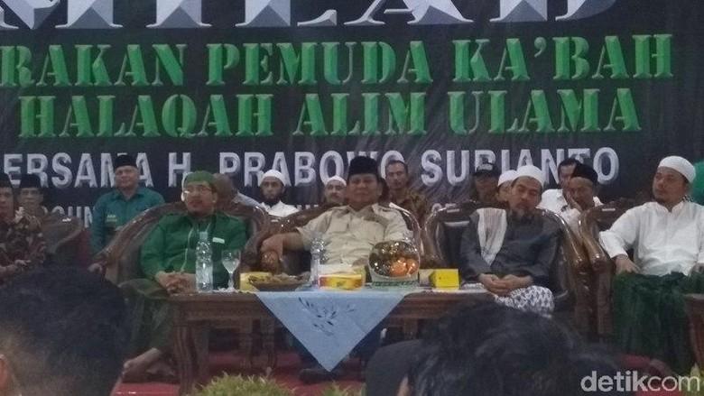 Gus Wafi Putra Mbah Moen Masuk Barisan Pendukung Prabowo-Sandi