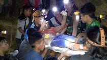 Begini Proses Evakuasi Korban Tambang Emas Longsor di Sulut