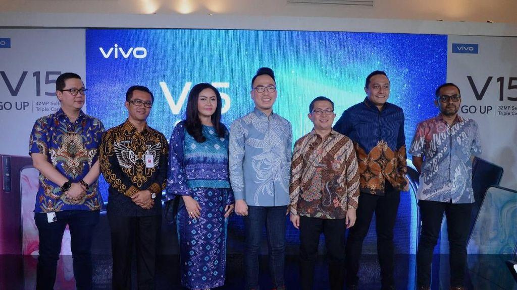Menanti Peluncuran Vivo V15 di Air Mancur Terbesar se-Asia Tenggara!