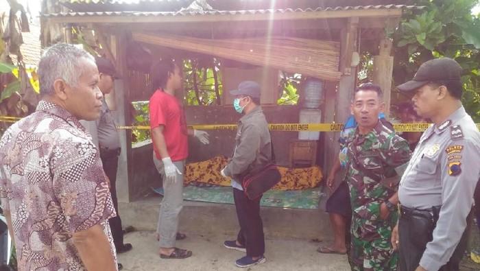 Penemuan mayat di warung dawet, Banjarnegara. Foto: Istimewa