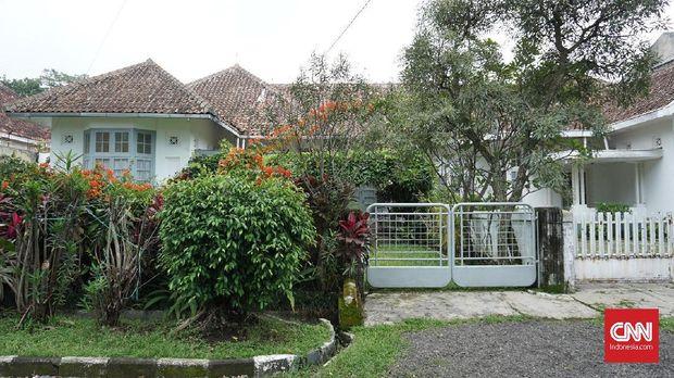 Rumah Milea menjadi salah satu lokasi utama syuting.