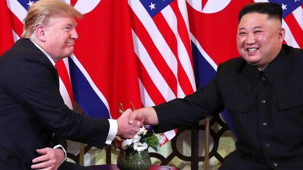 Trump dan Kim Jong-Un bertemu untuk kedua kalinya di Vietnam