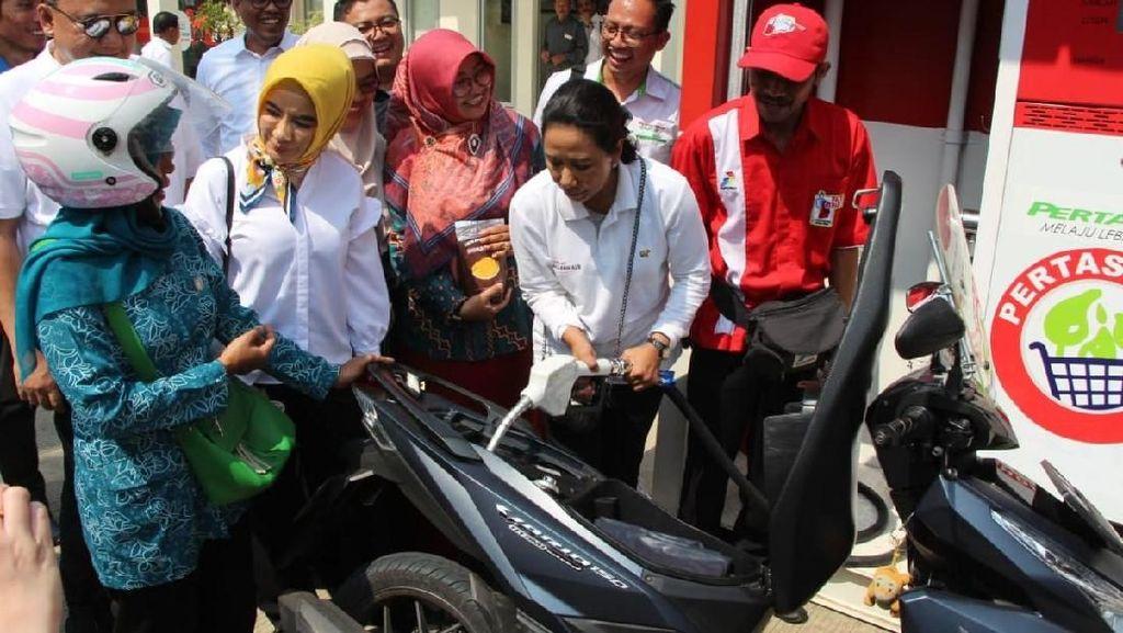 Pertamina Pasarkan BBM dan Elpiji di Desa via Pertashop