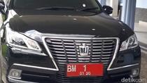 DPRD Buka-bukaan Mobil Dinas Gubernur Riau Royal Saloon-Alphard